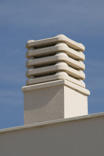 masonry chimney pot
