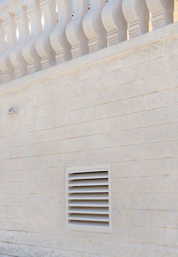 engineered stone ventilation grill / square