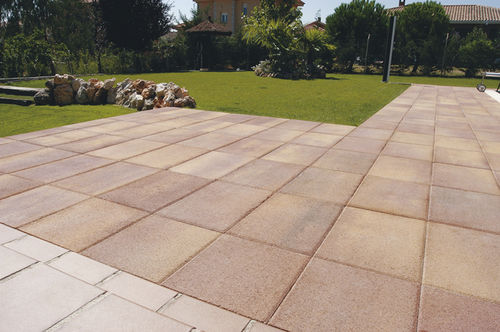 Outdoor tile / for floors / concrete / matte CIBELES Verniprens