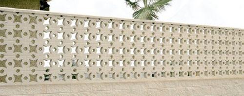 Concrete balustrade / panel / outdoor / for balconies ESTRELLA Verniprens