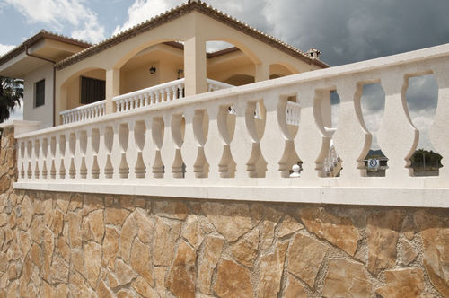 Engineered stone balustrade / bar / for balconies / for patios MARBELLA Verniprens