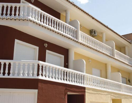 Engineered stone balustrade / bar / for balconies / for patios VENECIA Verniprens