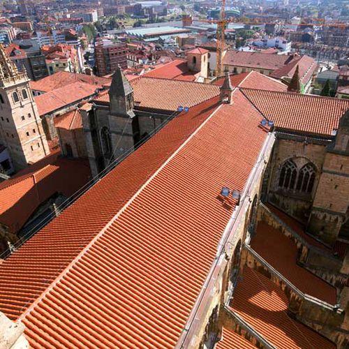 Roman roof tile / clay CURVED 40 CERÁMICA MAZARRÓN