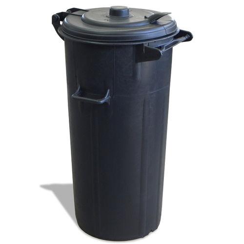 public trash can / PVC / for public spaces / contemporary
