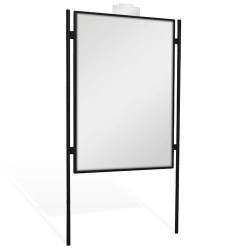 outdoor display panel / advertising / galvanized steel