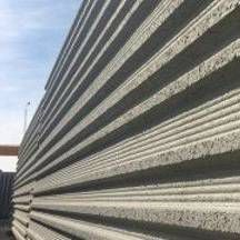 precast concrete wall / foundation / shear / with intergrated insulation