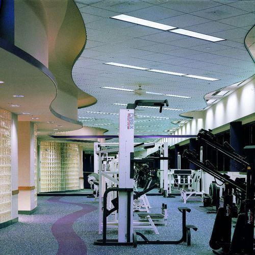 ceiling acoustic panel / aluminum / decorative / commercial