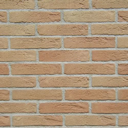 solid brick / for walls / handmade / aged