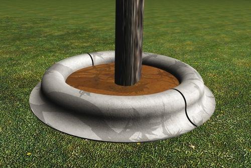 Tree edging / concrete / circular CA60 GLS Prefabricados