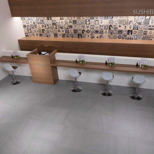 Indoor tile / outdoor / wall / floor JASPER : GRIS Novoceram sas