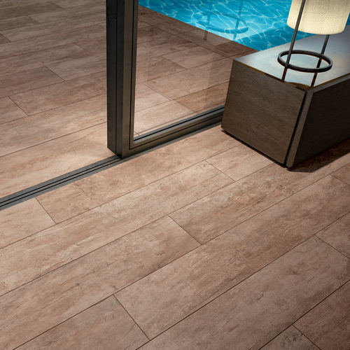 Indoor tile / outdoor / floor / porcelain stoneware TABLON : NATUREL Novoceram sas