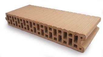 cellular brick / insulating / for walls