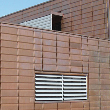 copper sheet metal / for facade cladding / roof