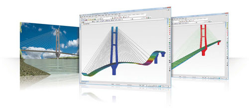 Structural calculation software / CAD / for steel structures / 3D MIDAS CIVIL MIDASIT