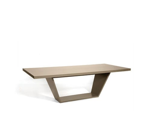 contemporary dining table / oak / walnut / rosewood