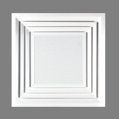Ceiling air diffuser / square DIMO MADEL
