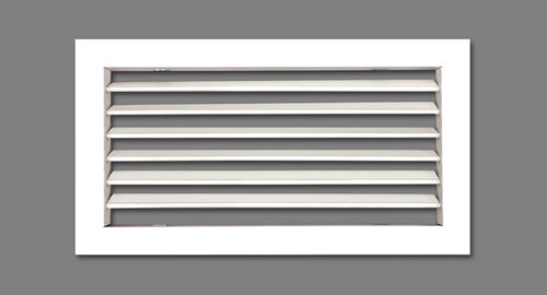 aluminum ventilation grill / rectangular