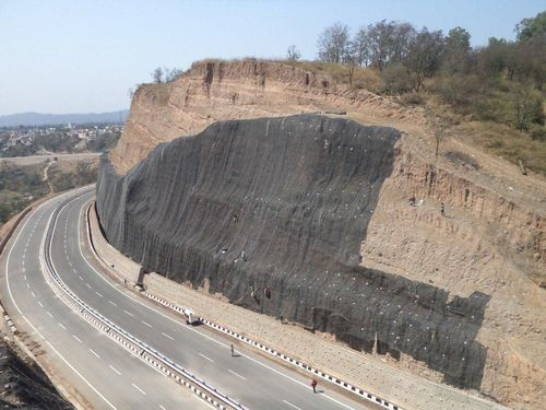 rockslide protection - Maccaferri