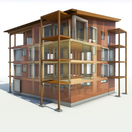 Project management software / construction management / for wooden structures / 3D BIM Metsäwood
