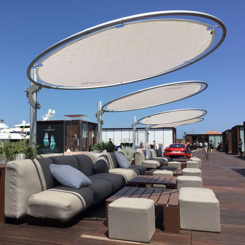 commercial shade sail / fabric