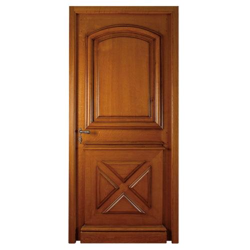 entry door / swing / oak / walnut