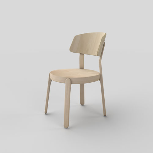 Scandinavian design chair - TEKHNE S.r.l.