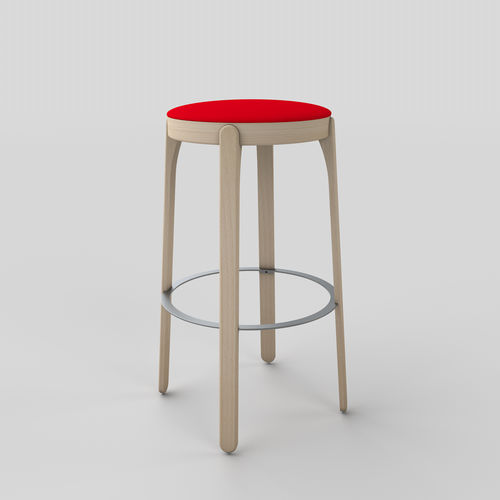 contemporary bar stool - TEKHNE S.r.l.