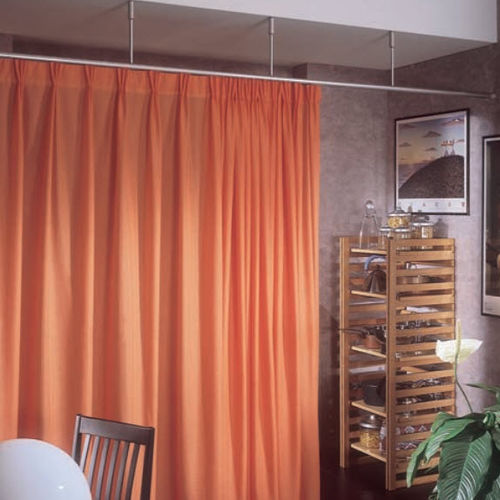 Drape curtain track / commercial / for healthcare facilities / room divider ROUND 464-462 MOTTURA