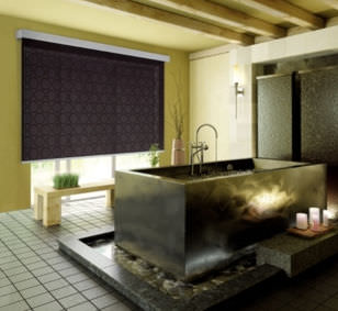 Roller blinds / fabric / ceiling mount / wall-mounted ECLISSE FUTURA MOTTURA