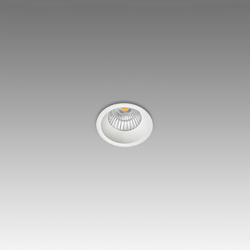 recessed ceiling spotlight / indoor / LED / metal