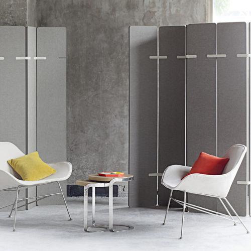 removable partition / plastic / professional