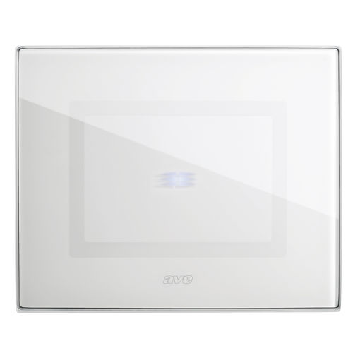 home automation system switch / touch / glass / contemporary