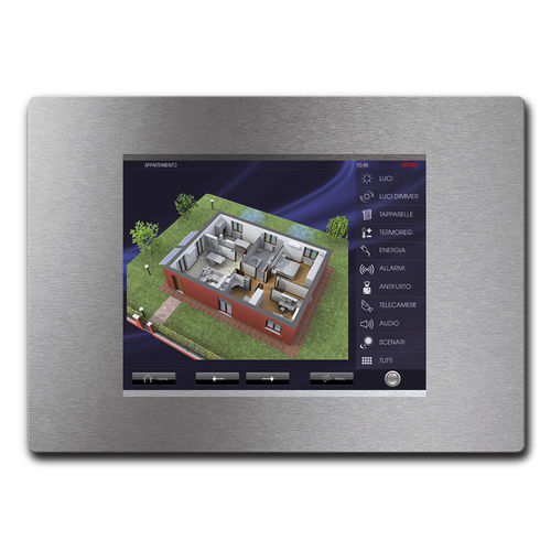 building automation system touch screen / built-in