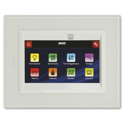 home automation system touch screen - Ave