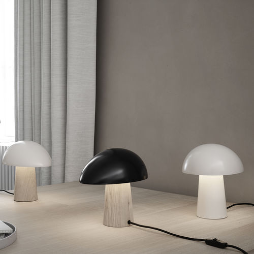 Table lamp / contemporary / aluminum / polycarbonate NIGHT OWL by Nicholai Wiig Hansen Lightyears