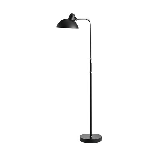 floor-standing lamp / Bauhaus design / steel / brass