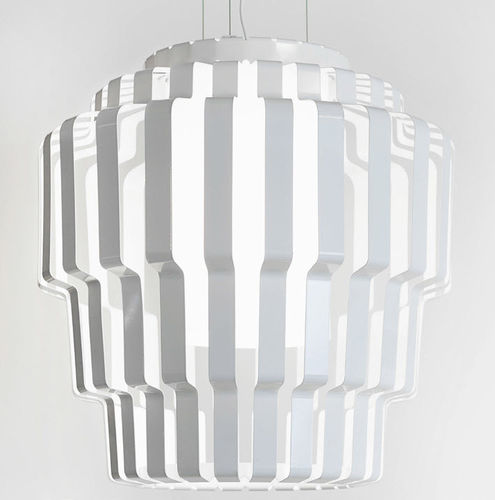 Pendant lamp / contemporary / glass / steel PALLAS by Formfjord Lightyears