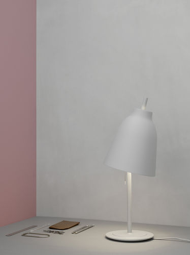 Table lamp / contemporary / aluminum / steel CARAVAGGIO by Cecilie Manz Lightyears