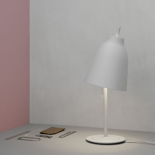Table lamp / contemporary / aluminum / steel CARAVAGGIO MATT by Cecilie Manz Lightyears