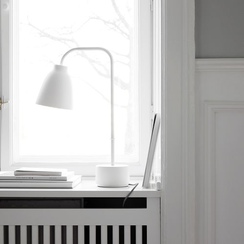 Table lamp / contemporary / metal / orientable CARAVAGGIO READ by Cecilie Manz Lightyears