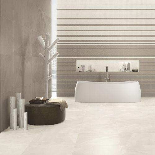 indoor tile / wall / for floors / engineered stone