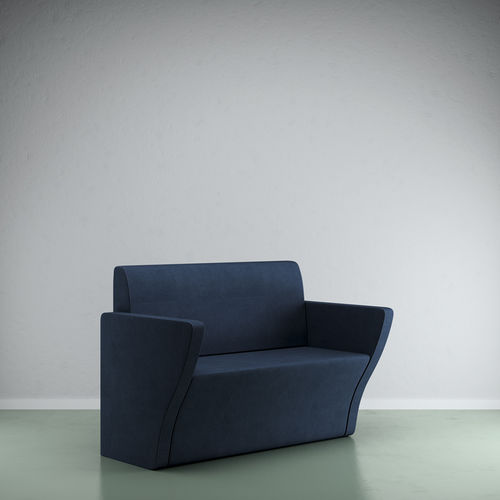 contemporary upholstered bench - VEZZOSI