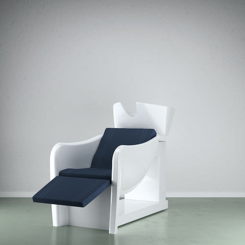 shampoo chair with footrest - VEZZOSI
