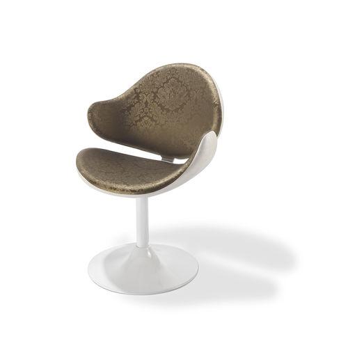 polyurethane beauty salon chair / steel / central base