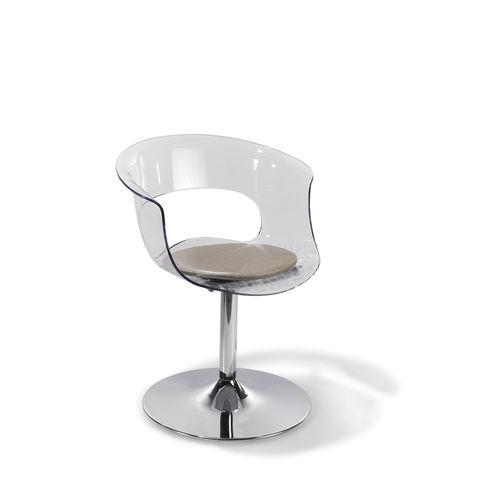 acrylic beauty salon chair / central base