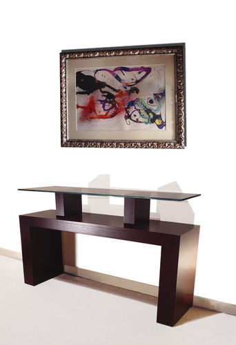 Sideboard table / contemporary / in wood / indoor ATRIA GONZALO DE SALAS