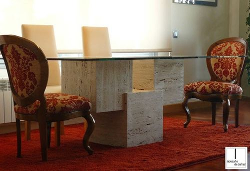 Contemporary Table / Marble / Rectangular. VENUS GONZALO DE SALAS
