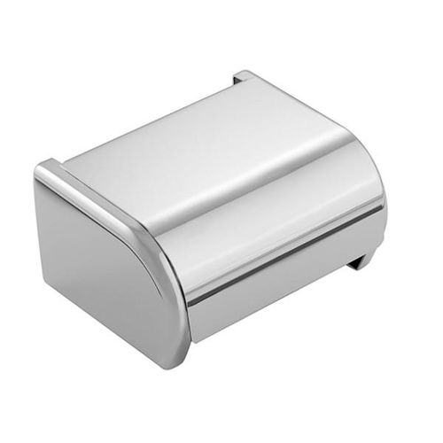 wall-mounted toilet paper dispenser / brass