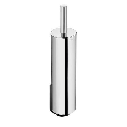 stainless steel toilet brush holder / wall-mounted