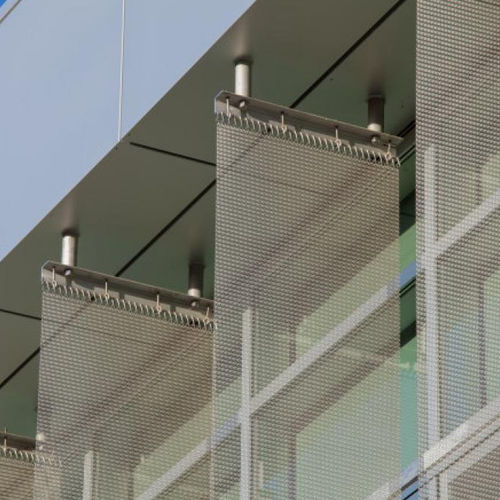 Metal fastening system / for facade cladding / exterior PANEL Cambridge Architectural